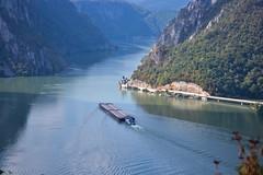 On the beautiful blue Danube (vladobgd) Tags: dunav barza srbija river reka tagljac d3100 nikon lens danube