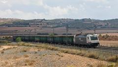 Chatarrero por La Encina (lagunadani) Tags: paisaje 253 renfe chatarrero laencina valencia alicante