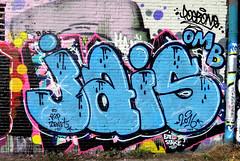 graffiti amsterdam (wojofoto) Tags: ndsm jais graffiti amsterdam wojofoto wolfgangjosten nederland holland netherland streetart