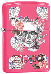 60002572 (fireshop_at) Tags: zipposasfrance zippo flowers ci40298428886v20tif flowery head powdercoat 28886 windprooflighter roses productcustomer ci402984 lighter neonpink skull imageassets creepy matte image pink neon ci40298428886 colorimage