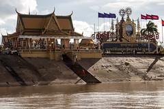 Temple on the river (Chiara Abbate) Tags: monk cambodia temple buddhism budda buddha chiarabbate chiara abbate cambogia down river mekong religion colour steps step daylife meditation orient travel trip adventure
