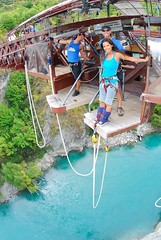 "Second #bungeejumping at the #Kawaraubridge in Queenstown, New Zealand. #itravelanddance March 2010 • <a style=""font-size:0.8em;"" href=""http://www.flickr.com/photos/147943715@N05/30045530242/"" target=""_blank"">View on Flickr</a>"