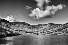 Glen Finlas (AdMaths) Tags: adammathesonphotography adammatheson lochlomondnationalpark lochlomond loch lochs glenfinlas lochfinlas canon canonixus canonixus82is 82is ixus82is ixus bluesky cloud mono monochrome blackwhite bw blackandwhite autumn cycling cycle mountainbiking mountainbike mountain mountains outdoor scenery scene scottish scottishlandscape scotland scottishmountain scottishscenery landscape nationalpark sunlight reservoir