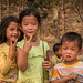 Enfants Hmong. Muang Sing. Laos
