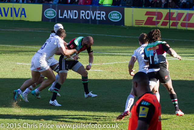 Quins 26 London Irish 20 March 7th 2015 Aviva Premership