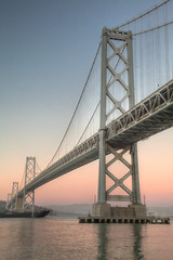 """The Bay Bridge • <a style=""""font-size:0.8em;"""" href=""""http://www.flickr.com/photos/54083256@N04/16552095104/"""" target=""""_blank"""">View on Flickr</a>"""