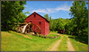 French Mill (Jerry Jaynes) Tags: fence tn flag grain shed waterwheel gristmill railfence timesgoneby jeffersoncounty danridge jeffersoncountytn tripodphotography nikkor1685vr frenchmill overshootwheel frenchmillroad