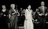 IMG_1371 (bobobahmat) Tags: portrait people bw music woman white man black girl choir concert artist dress scene lviv ukraine singer microphone performer ukrainian bnw mukha