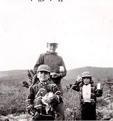 Camping in Colorado - summer 1955