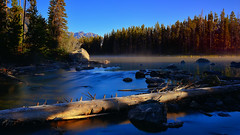 Leigh Lake - Explored (Tony Hochstetler) Tags: morning trees water pine nationalpark nikon wyoming tetons stringlake leighlake tetonsnationalpark nikon2870mmf28 leebigstopper d800e