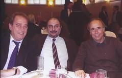Con Joan Manuel Serrat y Carlos Perez Anadon