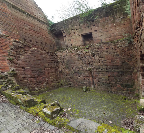 Medieval Ruin - Much Park Street, Coventry - panoramic