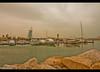 Looking towards Burj Arab from Jumeira (umasha79) Tags: dubai uae jumeira 7star burjarab 7starhotel