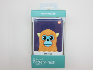 Samsung Animal Edition Battery Pack (11,300mAh) (Golden Monkey)