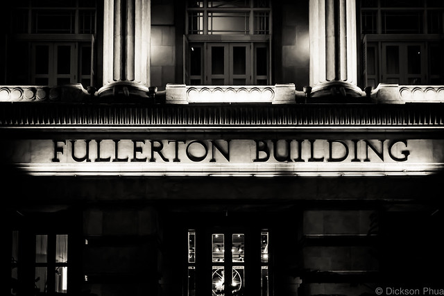 Fullerton Building sign
