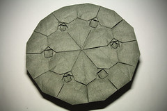 Robin Scholz. HydRingEa (back) (kastudio) Tags: art robin paper origami mosaic hydrangea tessellation scholz fujimoto shuzo hydringea