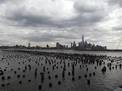 Abandoned Piers, Hudson River, Lower Manhattan Skyline, World Trade Center, New York City (lensepix) Tags: newyorkcity skyline skyscraper worldtradecenter hudsonriver lowermanhattanskyline abandonedpiers