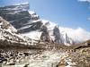 The world is big, and I'm small - เราอาจเป็นเพียงเม็ดทรายที่บังเอิญปลิวไปติดอยู่บนยอดเขา (chitpong) Tags: nepal annapurna annapurnabasecamp