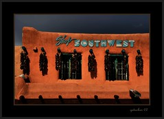 Shop Southwest (the Gallopping Geezer 3.8 million + views....) Tags: plaza old newmexico building canon structure adobe storefront taos geezer 2007 corel west07928
