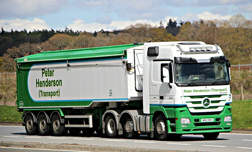 MB Actros - PETER HENDERSON Berwick-upon-Tweed