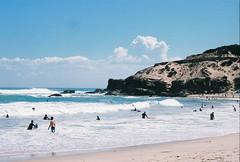 Missing Summer (goblinqueen) Tags: ocean summer film beach 35mm surf bluewater victoria rye nikonfm10 sorrento whitesand portsea fujisuperiaxtra400 shadesofblue surfbeach