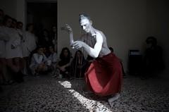 mybody:nobody photo by Nicola fortunati.6 (MATLAKAS) Tags: riccardoattanasio artperformance expomilan matlakas arteperformativa curatorearte barbedwire performance liveart