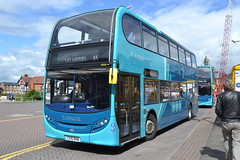 Arriva North West 4644 CX15BXW (Will Swain) Tags: uk travel england west bus buses station cheshire britain north transport chester april 25th arriva 2015 4644 cx15bxw