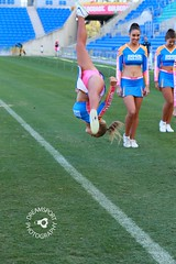 2015-04-26 GC Bulletin Fun Run 4037 (spyjournal) Tags: cheerleader goldcoast funrun cheerleadingsquad hogsbreathcafesirens