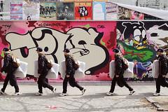 Graffitti Club Malmö (polybazze) Tags: city urban wall interestingness europe grafitti sweden walk photoshopped interestingness1 clone malmö mattress madrass möllan möllevångstorget flickrhivemindgroup