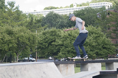 Skatepark with Tom and Chris (Karen_Macke) Tags: tom chris skatepark ithaca newyork