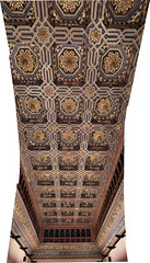 Another ceiling pano (petyr.rahl) Tags: spain zaragoza aljafera aragn es