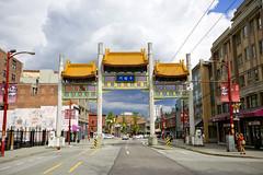 Chinatown Millennium Gate (GoToVan) Tags: chinatown millennium gate china chinese pender street
