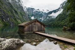 DSC_3620 (svetlana.koshchy) Tags: lake mountains alps reflection germany bayern bavaria berchtesgaden land alpen boathouse obersee berchtesgadener