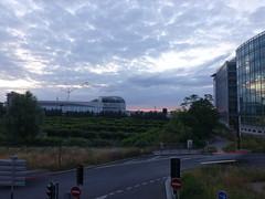 #Sunset in the city (PAZghost) Tags: city sunset sun paris france set soleil coucher defense 92 ville flickrfriday