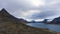 if you've ever stood here you'd want to come back (lunaryuna) Tags: seascape scale nature beauty season landscape iceland spring solitude fjord peaks lunaryuna stillness vastness westfjords mountainrange remoteness panoramicviews thesoundofsilence seasonalchange weathermood northwesticeland