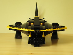 Blacktron X-Ray Spirit (yetanothermocaccount) Tags: classic ray fighter lego stingray spirit space tie b2 moc blacktron