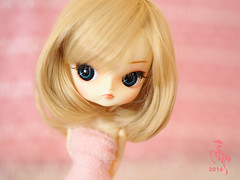Cassie (Malina (LaelP)) Tags: pullip dal groove frara cassie blond blonde fair hair blue eyes chips pink pastel cute beautiful doll cassidy poupe mueca puppe