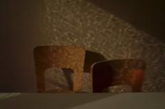 dark4 (lux fecit) Tags: paris kitchen wall dark table chairs windowglassshadow