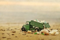 truckload of treasures (s@ssyl@ssy) Tags: dinky truck treasures shells seaglass saublebeach lakehuron onholiday atthecottage sand shore beach summer calmwaters