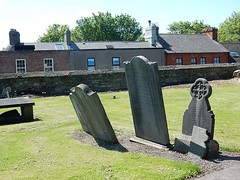 Leaning Tombs (mikecogh) Tags: houses dublin cemetery graves roofs leaning tombs celticcross