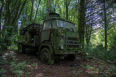Lost Truck (Ni1050) Tags: ni1050 daf military militr truck lorry lkw dutch woods wald moos sony a7 ilce7 moss green grn dark mystery mystik mystisch trillertour 2016 ninicrew urbex urbanexploration lostplace lostplaces verlaaten decay abandoned verlassen derelict trees bume autofriedhof carcemetary a1600 v1600 1600 explore