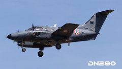 Armee de l'Air EMB-121AA Xingu (dn280tls) Tags: 078 armee de lair emb121aa xingu