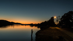 Sunrise at the waterfront (Merrillie) Tags: woywoy nikon nature australia d5500 nswcentralcoast newsouthwales sea nsw centralcoastnsw photography water outdoors seascape waterscape centralcoast landscape bay