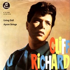 5 - Richard, Cliff - Livin' Doll - D - 1959 (Affendaddy) Tags: vinylsingles cliffrichard livingdoll apronstrings emi electrola c21254 germany 1959 britishrocknrollandpopmusic collectionklaushiltscher