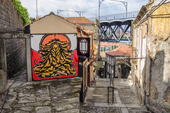 Street Art 1492 (_Rjc9666_) Tags: art artwork colors grafitti nikond5100 painting places porto portugal street streetart tokina1224dx2 urbanphotography ruijorge9666 pt