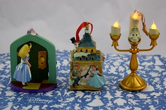 Disney Store Purchases - 2016-07-22 - Alice and Peter Pan Sketchbook Ornaments, Lumiere Light Up Ornament - Front View (drj1828) Tags: us disneystore disneyparks ornament lightup sketchbook aliceinwonderland peterpan purchase online