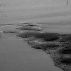 even in the quietest moment (zventure,) Tags: aube alpesmaritimes abstrait abstract bordsduvar blackandwhite sable extrieur eau eaudouce calme quitude monochrome noiretblanc nice nature noir