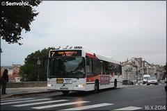 Volvo 7700 - STGA (Société de Transport du Grand Angoulême) n°677 (Semvatac) Tags: semvatac photo bus tramway métro transportencommun volvo 7700 bb837cq stga sociétédetransportdugrandangoulême 7 avenueduprésidentwilson angoulême charente