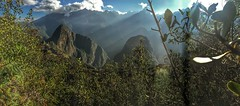 View from Machu Picchu Mountain (Machu Picchu, Cuzco, Peru. Gustavo Thomas  2016) (Gustavo Thomas) Tags: heights panorama green mountain nature per cuzco cusco travel landscape machupicchu