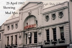 Oh, Gawd! Not another photo of the Futurist? (philipgmayer) Tags: zenit zenith camera futurist cinema limestreet liverpool 1982